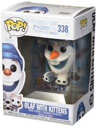 POP! Vinyl: Frozen Olaf With Kittens