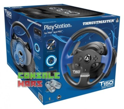Thrustmaster T150 Force Feedback (PS4/PS3/PC)