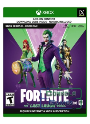 Fortnite: The Last Laugh Bundle (XboxOne / Xbox Series) Цифровой код