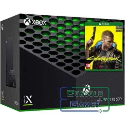 Xbox Series X  (Cyberpunk 2077 bundle)