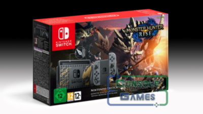 Nintendo Switch-Monster Hunter Rise Edition
