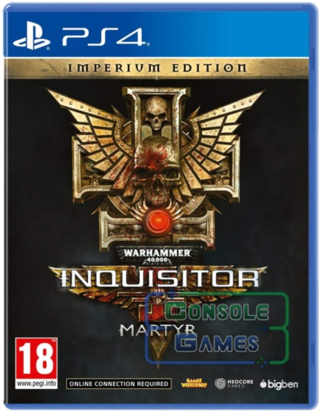 Warhammer 40,000 Inquisitor - Martyr Imperium Edition (PS4)