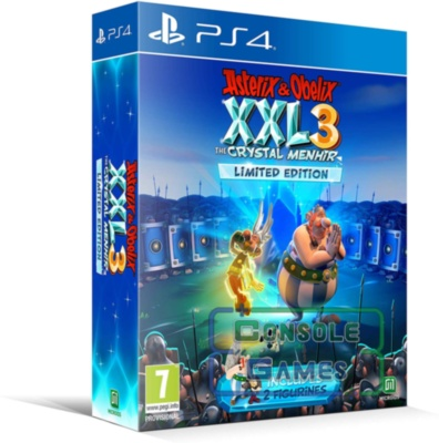 Asterix & Obelix XXL 3: The Crystal Menhir. Limited Edition (PS4)