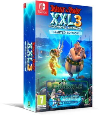 Asterix & Obelix XXL 3: The Crystal Menhir. Limited Edition (Nintendo Switch)