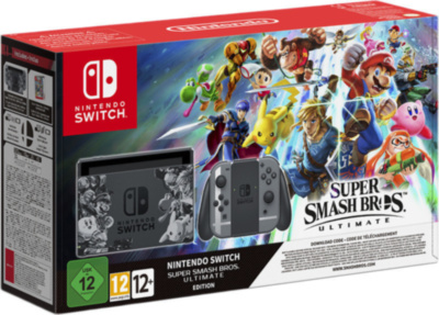 Nintendo Switch + Super Smash Bros Ultimate (Nintendo Switch)