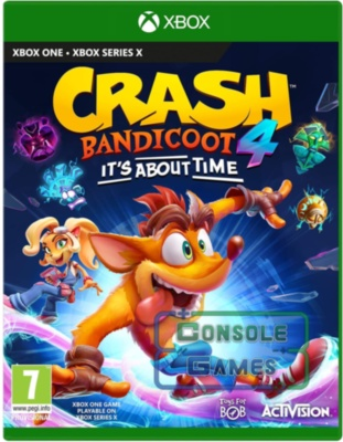 Crash Bandicoot 4: It's About Time (Xbox Series X / S) Цифровая Версия