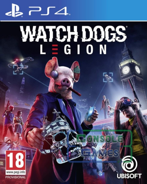 Watch Dogs: Legion (PS4)  ПРЕДЗАКАЗ