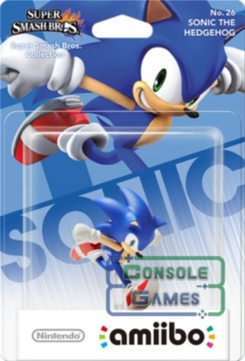 Amiibo Super Smash Bros. Sonic The Hedgehog
