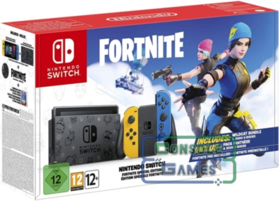 Nintendo Switch Fortnite Edition Новая Ревизия