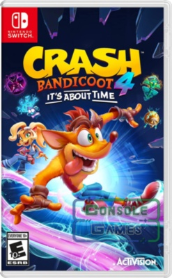 Crash Bandicoot 4: It's About Time (Nintendo Switch)