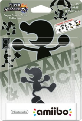 Amiibo Super Smash Bros. Mr.Game and Watch