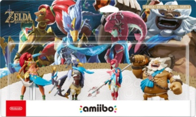 Amiibo The Legend of Zelda Breath of the Wild Collection