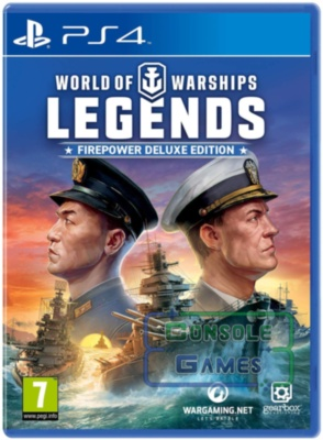 World of Warships Legends Deluxe Edition (PS4)