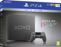 PS4 Slim (1TB) Days of Play Limited Edition