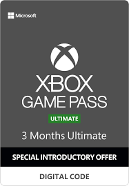 Подписка Xbox Game Pass Ultimate на 3 месяца