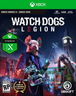 Watch Dogs: Legion (Xbox Series X / S) Цифровая версия