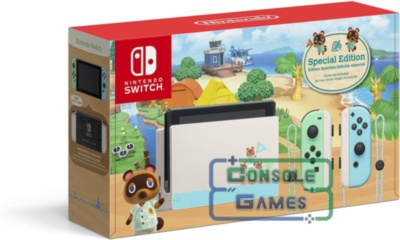Nintendo Switch-Animal Crossing: New Horizons Edition. V2