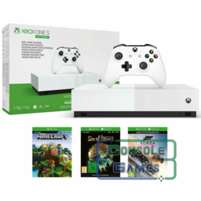 Xbox One S All-Digital Edition 1TB+3 игры