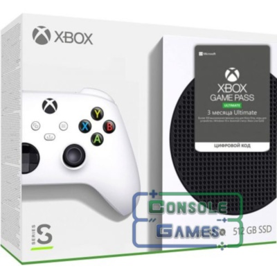 Xbox Series S + Xbox Game Pass Ultimate (3 месяца)