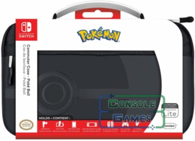 Nintendo Switch Commuter Case Poke Ball